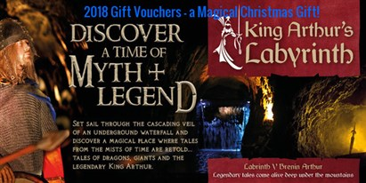 King Arthur's Labyrinth Gift Experience Voucher 2018