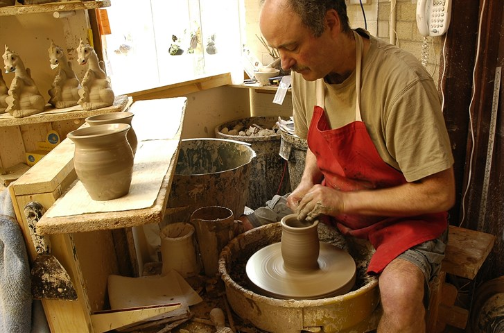 The Quarry Pottery at Corris Craft Centre